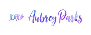 Xoxo Aubrey Parks Name Logo